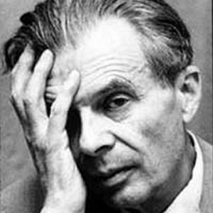 Aldous Huxley striking the famous one-eye pose we see so often in these circles.