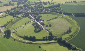 Avebury from the air....
